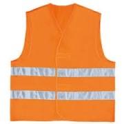 Colete Blusão de Alta Visibilidade Refletivo - Gilp2 Laranja Tamanho Xxg