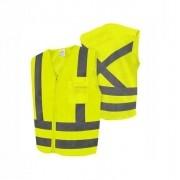 Colete Blusao Refletivo Classe 2 C/1 Bolso Amarelo Xg