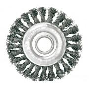 Escova Circular Trancada Aco Carbono 6 X 1/4