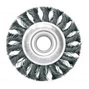 Escova Circular Trancada Aco Carbono 7 X 1/4