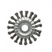 Escova Circular Trancada Aco Inox 4.1/2
