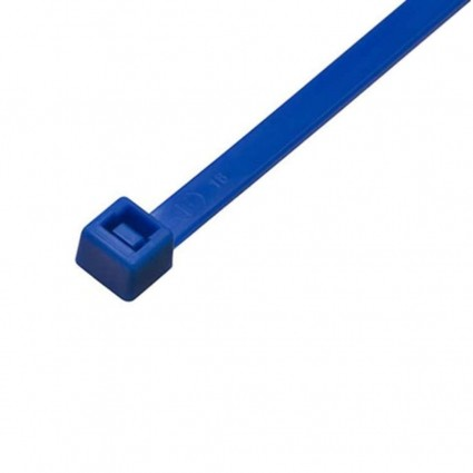 Abracadeira Nylon Azul 100 Pecas 200 X 4.80mm