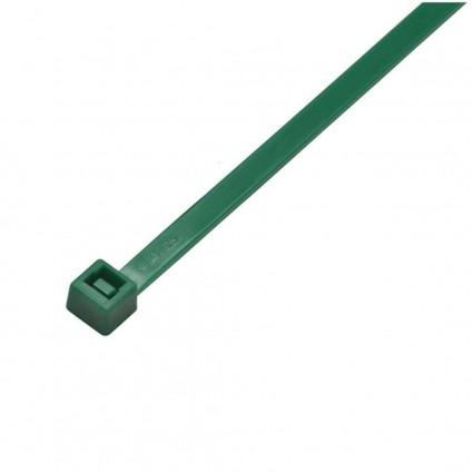 Abracadeira Nylon Ultra-violeta Verde 100 Pecas 151 X 3.70mm