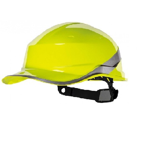 Capacete de Segurança Com Aba Frontal Amarelo