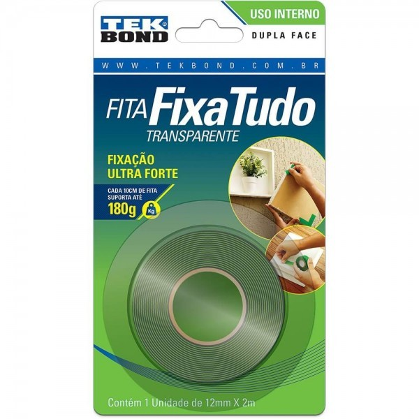 Fita Blister Dupla Face 12mm X 2m
