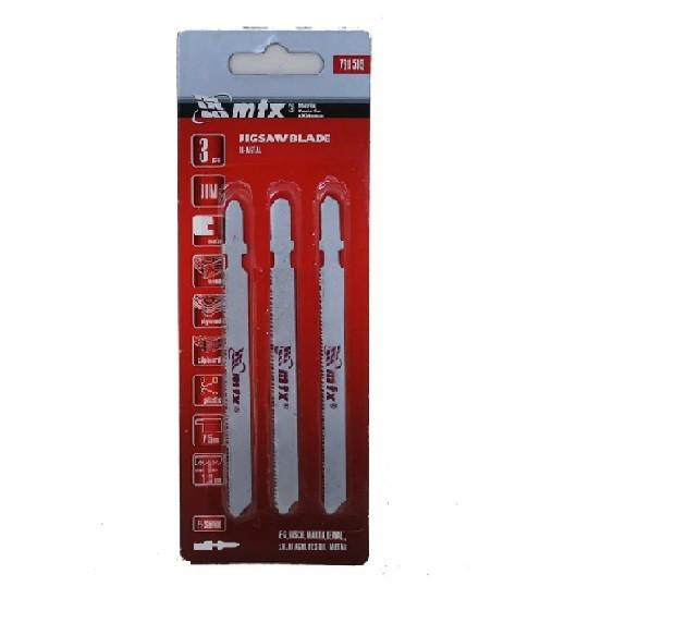 Kit C/3 Lamina Serra Tico-tico Aco Rapido Bimetal 75 X 1.2mm