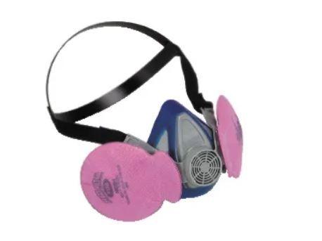 Máscara Respirador Advantage Preto Com Filtro Flex Filter
