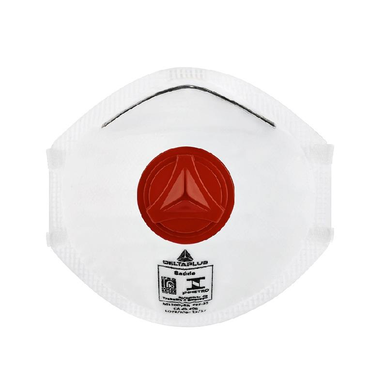 Máscara Respirador Tipo Concha Descartável Com Válvula Pff3