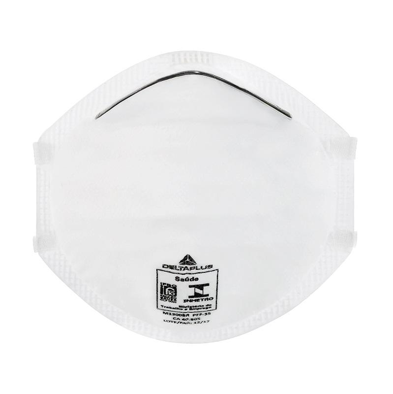 Máscara Respirador Tipo Concha Descartável Sem Válvula Pff3