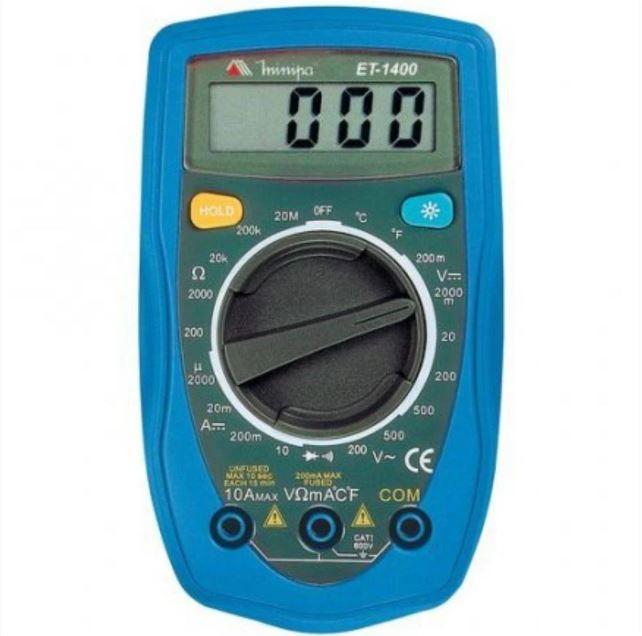 Multimetro Digital 20 Mohms Termometro