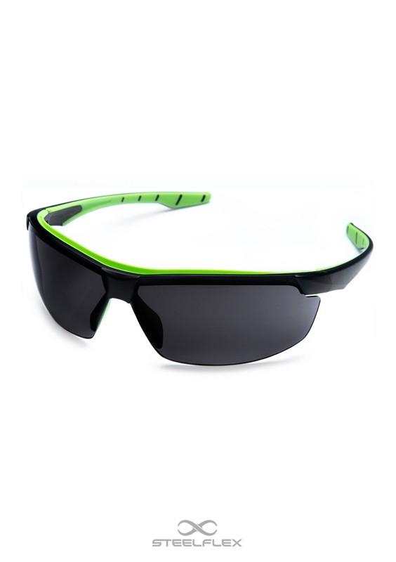 Óculos de Proteção Neon Cinza Fumê Esportivo