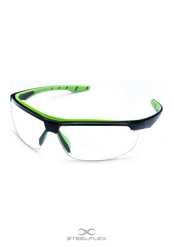 Óculos de Proteção Neon Incolor Esportivo