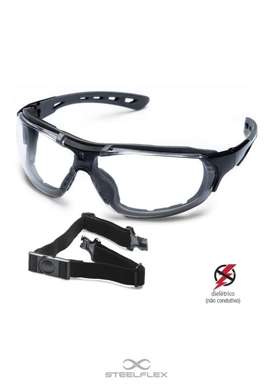 Óculos de Proteção Roma - Incolor