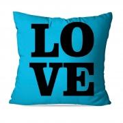 ALMOFADA OU CAPA BLUE LOVE 3