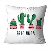ALMOFADA OU CAPA FREE HUGS