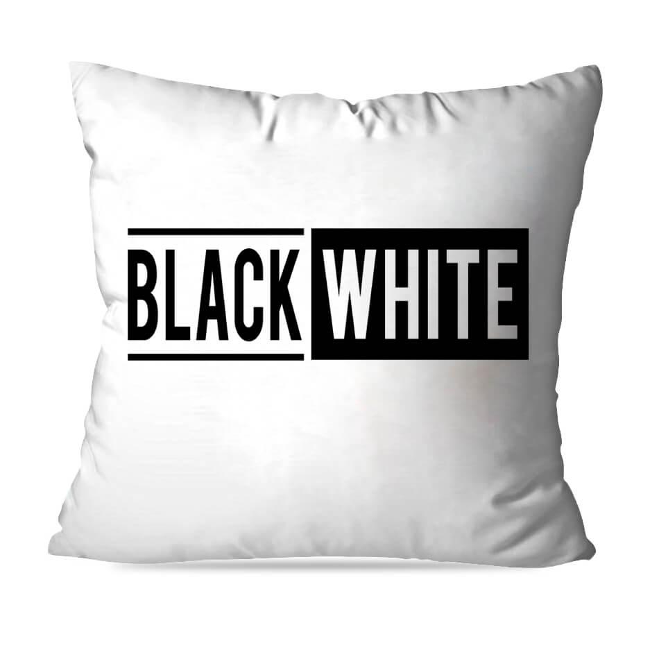 ALMOFADA OU CAPA BLACK AND WHITE