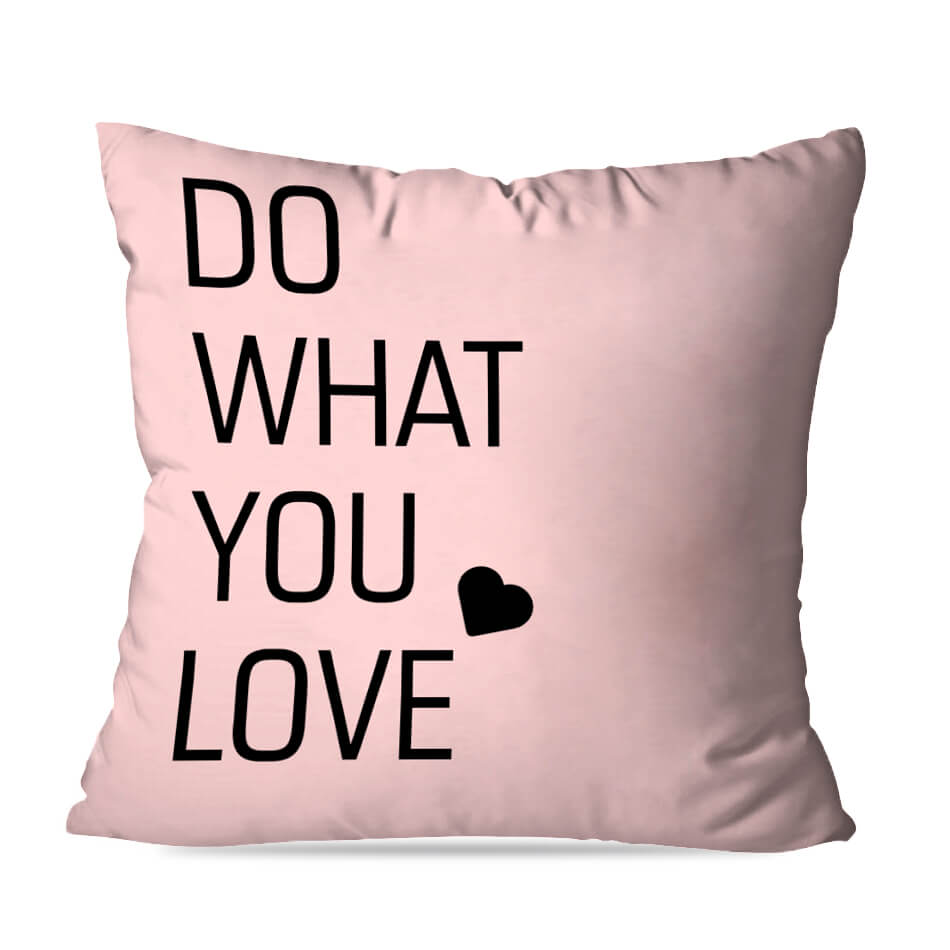 ALMOFADA OU CAPA WHAT LOVE
