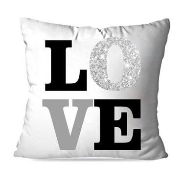 KIT 4 ALMOFADAS OU CAPAS  LOVE HOME