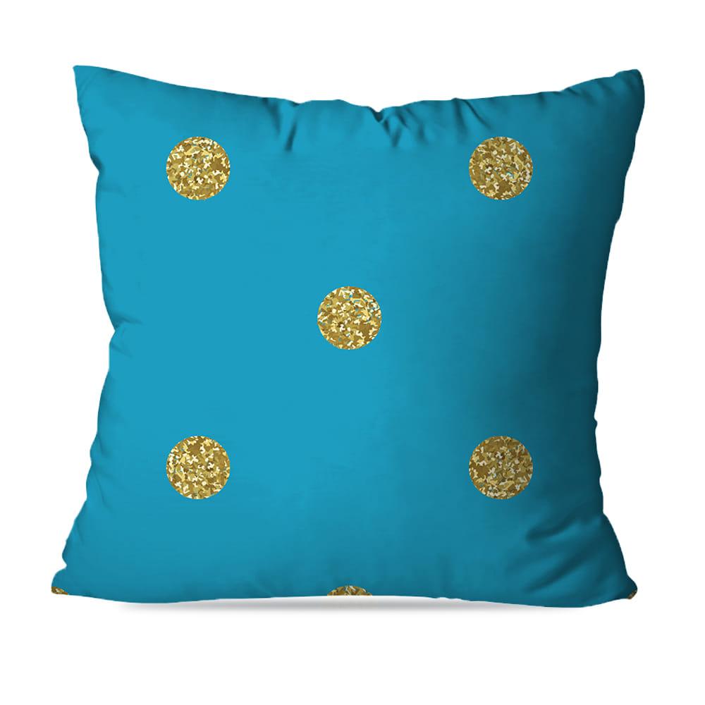 KIT 4 CAPAS DE ALMOFADAS BLUE GOLD