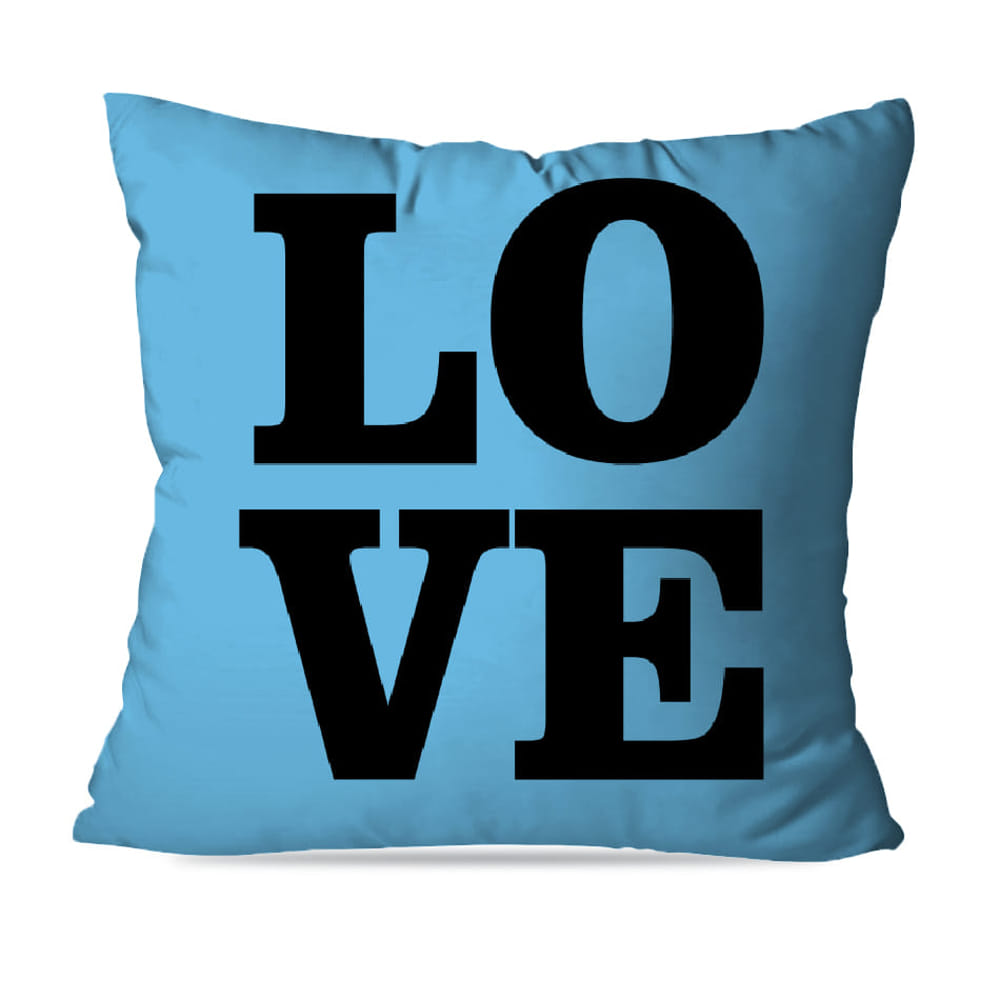 KIT 4 CAPAS DE ALMOFADAS BLUE LOVE