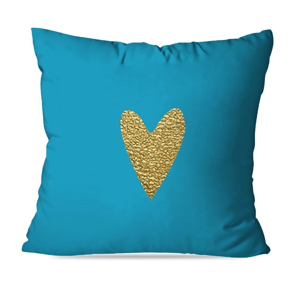 KIT 4 CAPAS DE ALMOFADAS PREMIUM BLUE GOLD