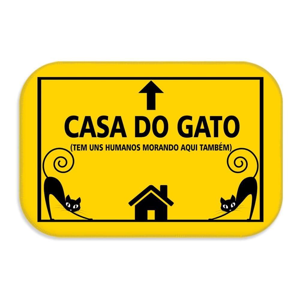 TAPETE DECORATIVO CASA DO GATO