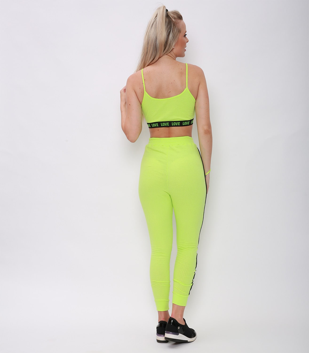 TOP RELAXING VERDE NEON