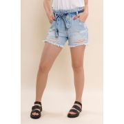 SHORTS JEANS CLOCHARD LAYLA