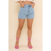 SHORTS JEANS SLOUCHY CANDY - JEANS CLARO