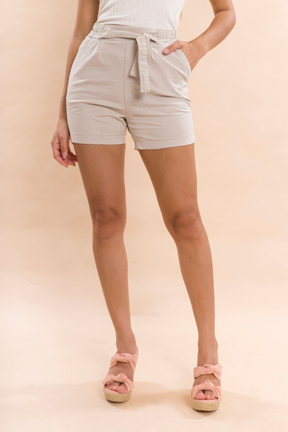SHORTS SARJA CLOCHARD CINDY