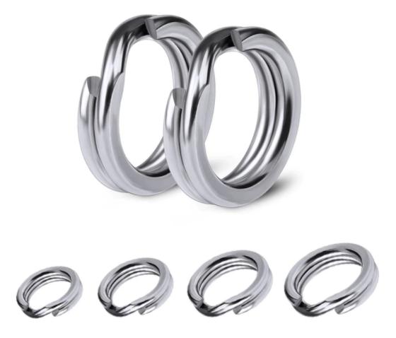 Argola Split Rings Pesca Strong 4X - 20 unidades