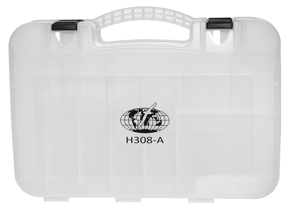 Estojo dupla face H308A (tipo maleta) - Albatroz Fishing