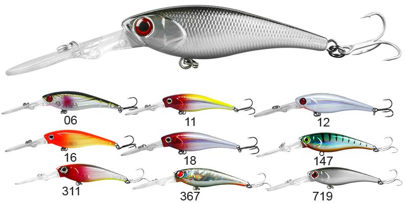 Isca Artificial Barbelão 6,2 cm - Albatroz Fishing