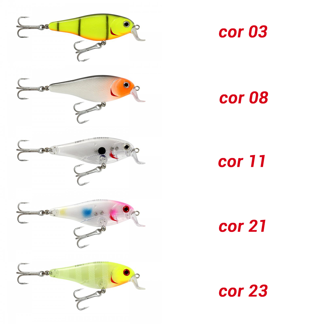 Isca artificial Lori Shad 80 (floating)
