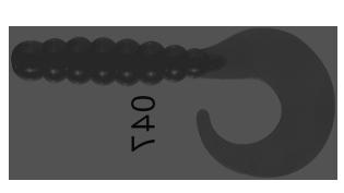 Isca Soft Grub Goró Single Tail - Albatroz Fishing