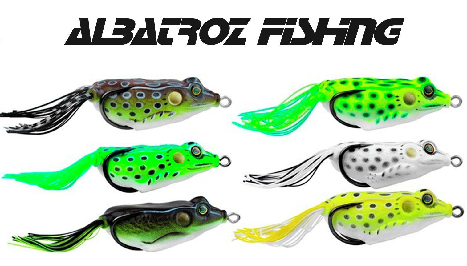 Isca Soft Top Frog XY-10 - Albatroz Fishing