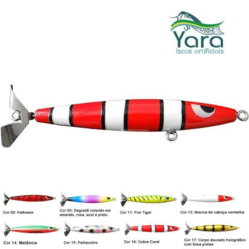 Isca Artificial Hélice Devassa - Yara 140mm 35g
