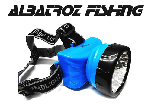 Lanterna de cabeça recarregável LED-722B - Albatroz Fishing