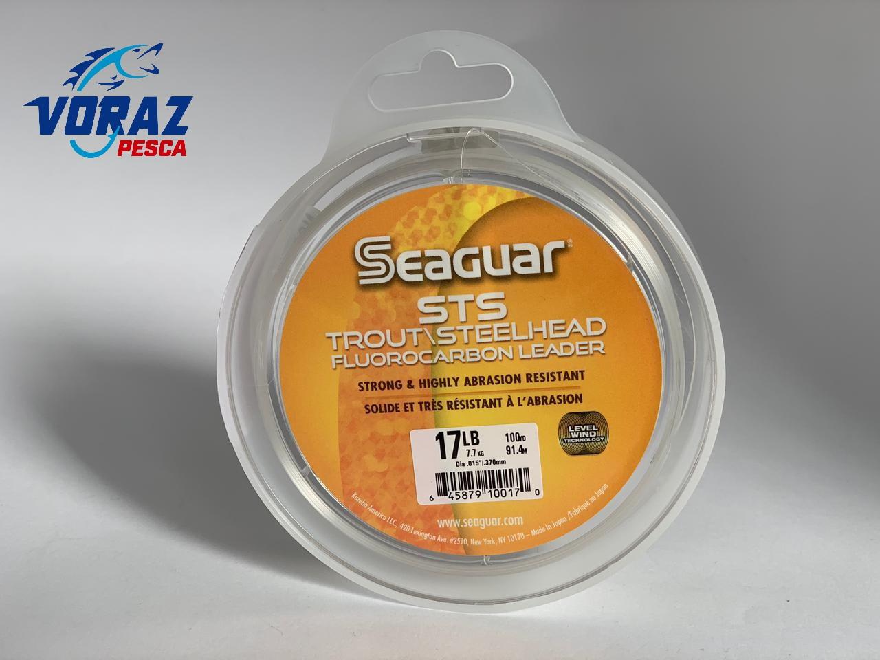 Linha Leader 100% Fluorcarbon STS Salmon - Seaguar