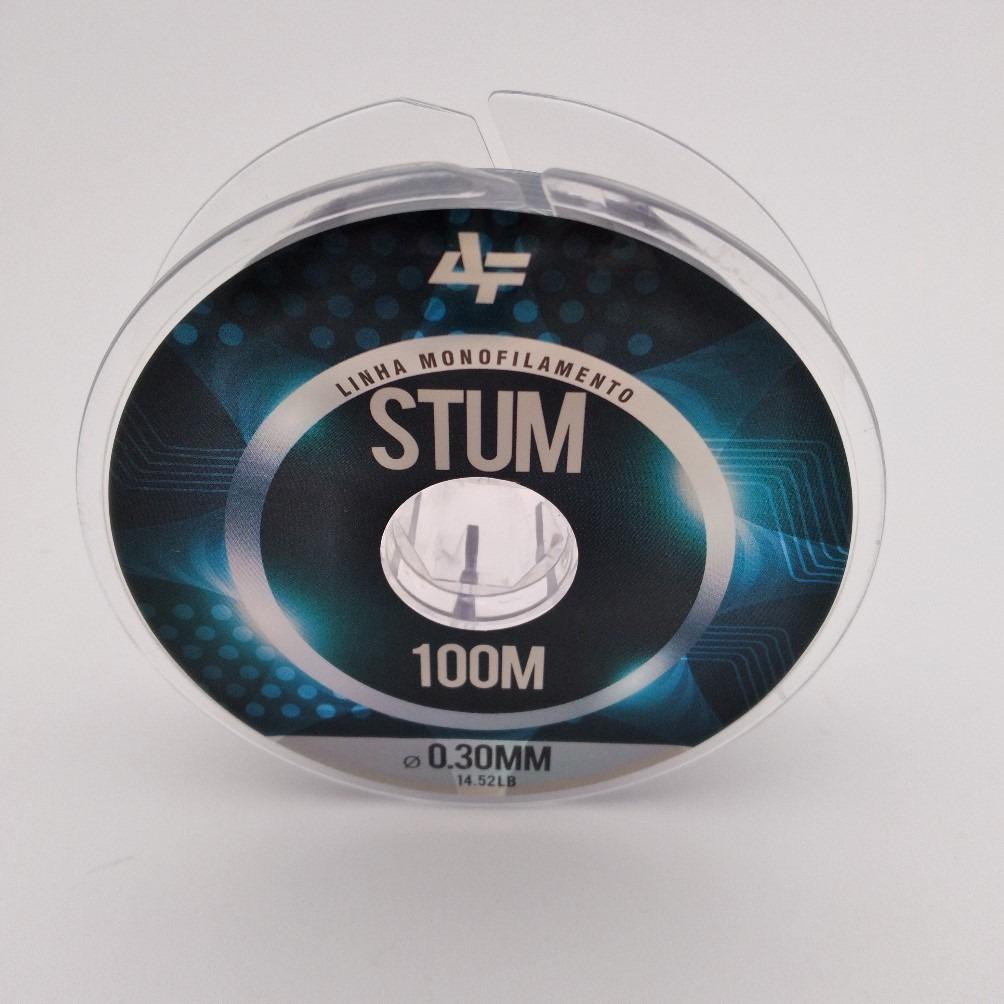 Linha Monofilamento Stum 100 mts - Albatroz Fishing