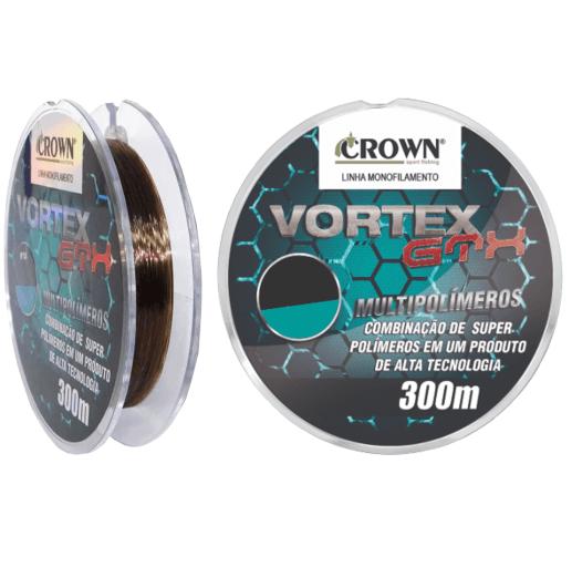 Linha Monofilamento Vortex 300 mts - Crown