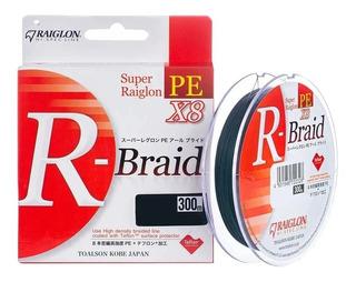 Linha Multifilamento Raiglon PE R-Braid X8