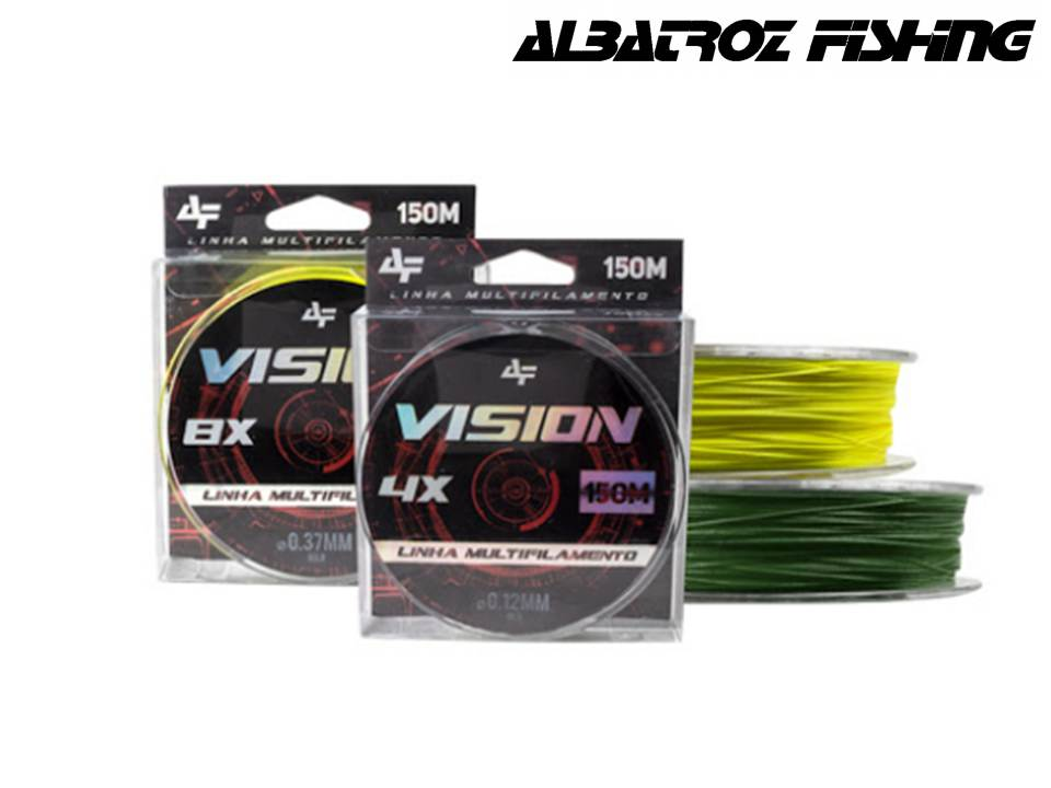 Linha Multifilamento Vision 4X 150 mts - Albatroz Fishing