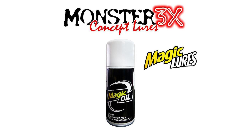 Óleo Lubrificante para rolamentos de carretilhas e molinetes - Monster 3X 150ml