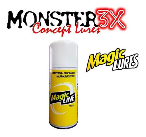 Renovador de Linhas Magic Line Spray - Monster 3X 150ml