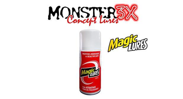 Renovador e Protetor de iscas soft - Magic Lures - Monster 3X
