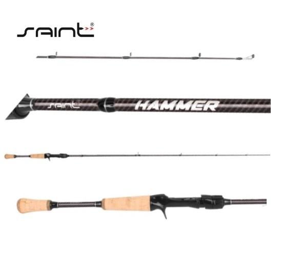 Vara para Carretilha New Hammer 5´8 (1,73m) 7-17lbs - Saint Plus