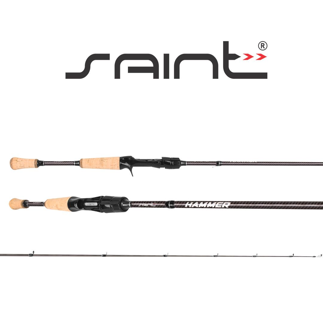 Vara para Carretilha New Hammer 5'8 (1,73m) 8-20lbs - 2 pates Saint Plus
