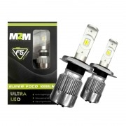 Kit Lâmpadas Ultra Led H11 F5 10.000 Lúmens M2M