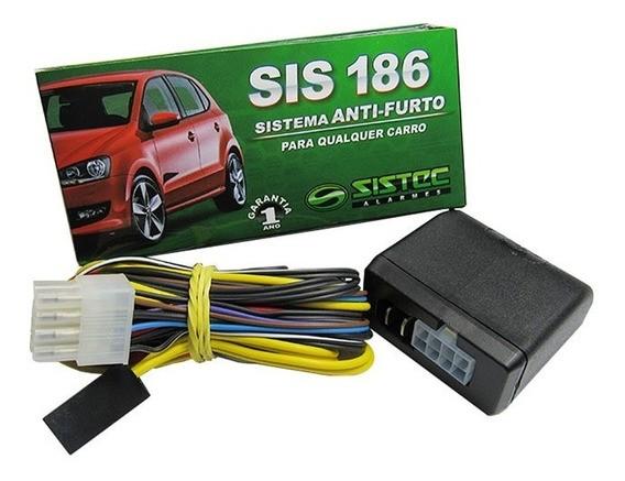 Alarme SIS 186 Sistema Anti-Furto Bloqueador Universal Sistec